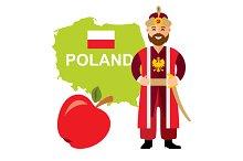 Poland travel concept
