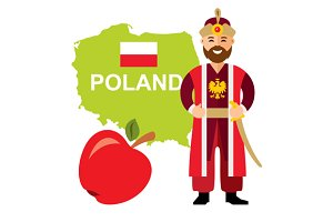 Poland travel concept