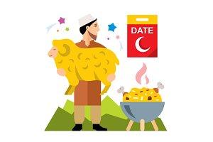 Muslim holiday of Ramadan
