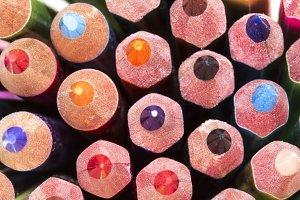 color pencils points