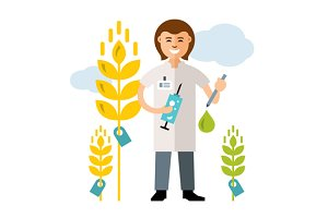 Plant breeding, genetic engineering