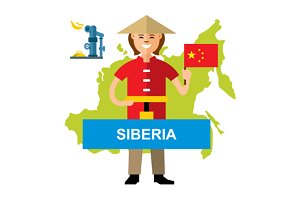 Gas pipeline Siberia - China