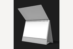 Open Desk Calendar