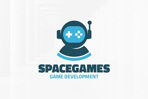 Space Games Logo Template
