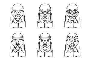 Avatars Arab