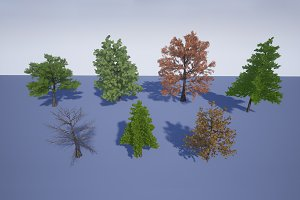 Realistic Trees 1