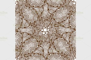 Ornamental floral background.