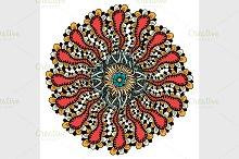 Mandala ethnic ornament