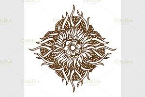 Henna Tattoo Mandala