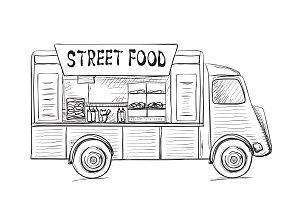 Food truck poster