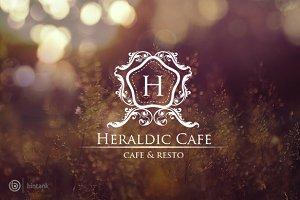 Heraldic Logo - Heraldic Cafe