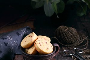 cookies with dried cranberries