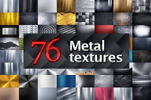 76 Metal Textures and Backgrounds