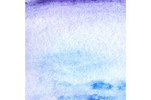 Watercolor blue violet background