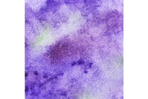 Watercolor violet lavender texture