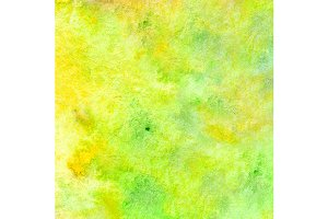 Watercolor neon green yellow texture