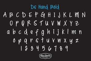 Ds Hand Bold