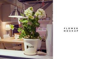 Flowerpot Mockup #1