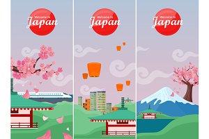 Japan Travelling Banner