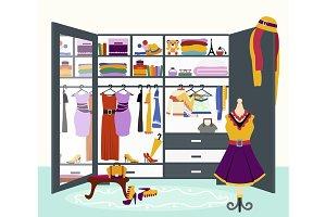 Woman's Wardrobe