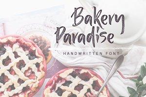 Bakery Paradise Handwritten Font
