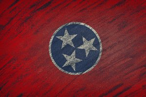 Tennessee state flag.