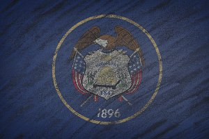 Utah state flag.