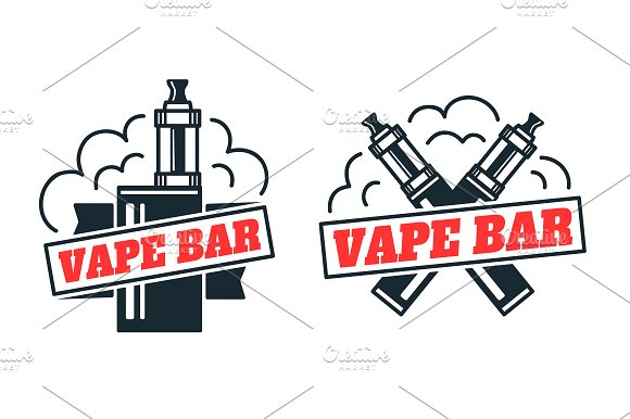 how to make vape logo
