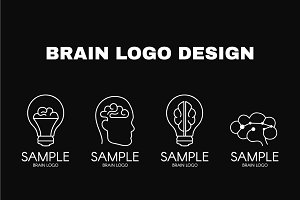 Brain logo designs