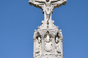 carved cross