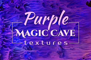 Purple MAGIC CAVE Textures