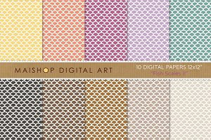 Digital Papers - Fish Scales II