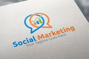 Social Marketing | logo Template