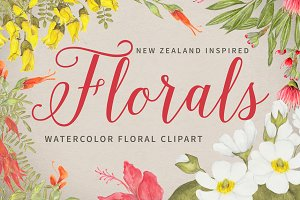 Florals - Inspired by New Zealand