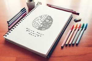 Hand Drawn Sketch Mock-up 22