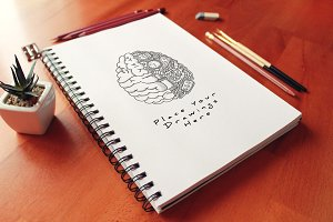 Hand Drawn Sketch Mock-up 29