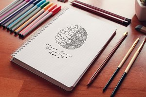 Hand Drawn Sketch Mock-up 32