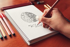 Hand Drawn Sketch Mock-up 33