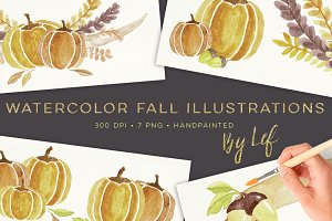Fall Clipart Illustrations Autumn