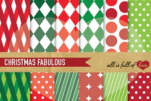 Christmas Background Patterns