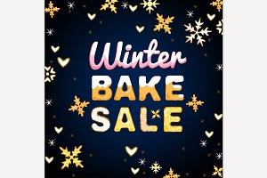 Winter Bake Sale