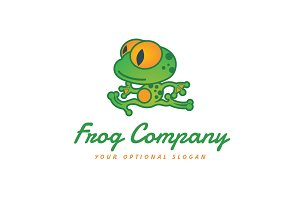 Running Frogman Logo