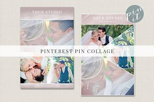 Pinterest/blog/web collage template