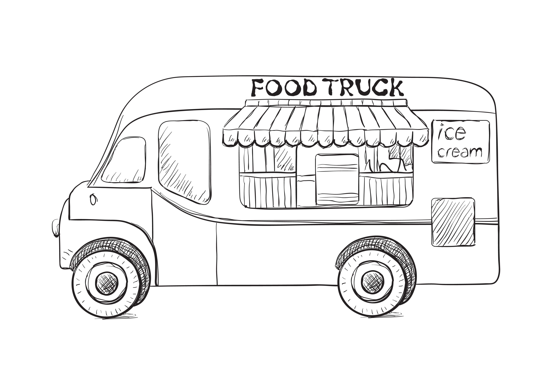 Street food poster ~ Illustrations ~ Creative Market