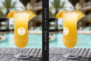 Coctail Logo Mock-up #7