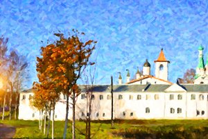 Holy Trinity Alexander Svirsky monastery