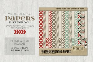 Vintage Christmas: Papers