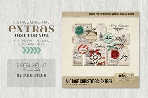 Vintage Christmas: Extras