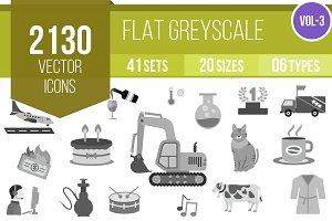 2130 Greyscale Icons (V3)