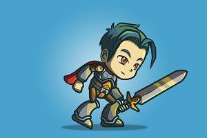 Genki And Dragon Blade